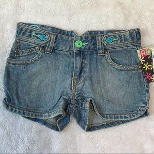 Roxy Girls Jeans Shorts Sz 8